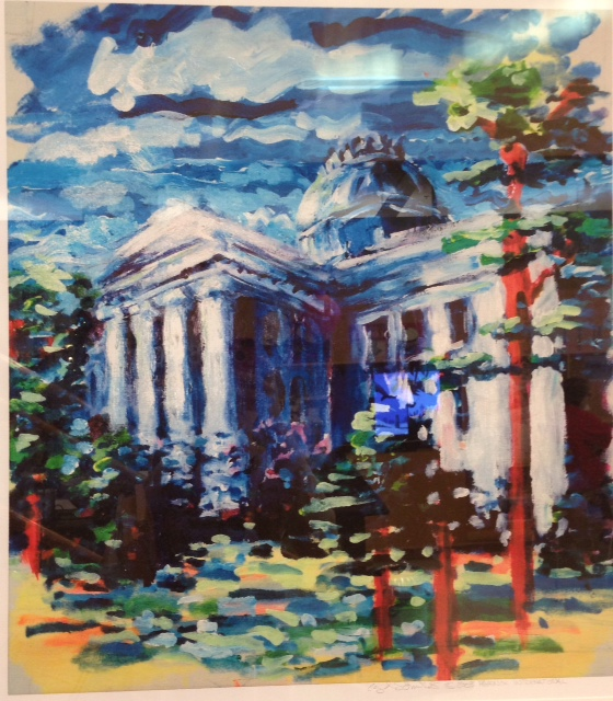 The North Carolina State Capitol, by Lloyd Skidmore III
