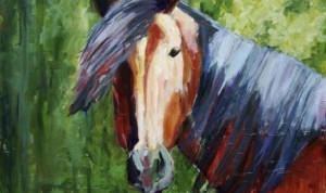 Equestrian Art Show on view at Waverly Artists Group Gallery and Studio