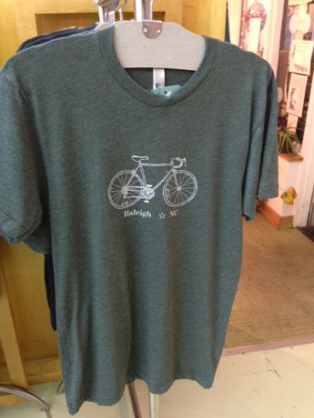 Raleigh bike tee by Fly Trap