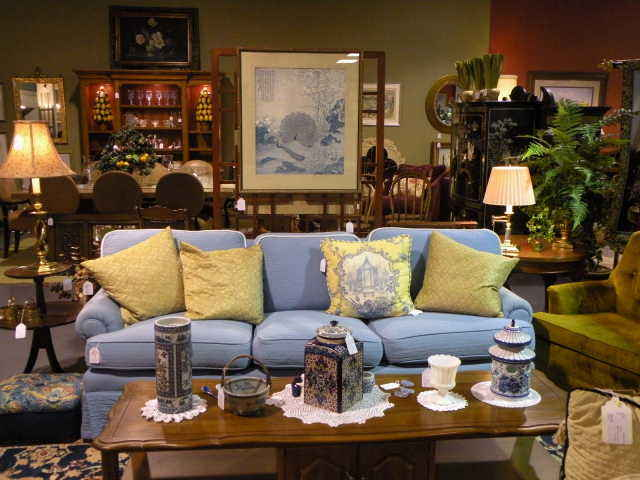 Model home consignment furniture