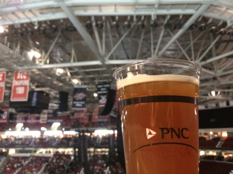 Craft brew at PNC Arena