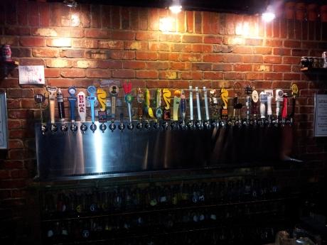 Pour House taps