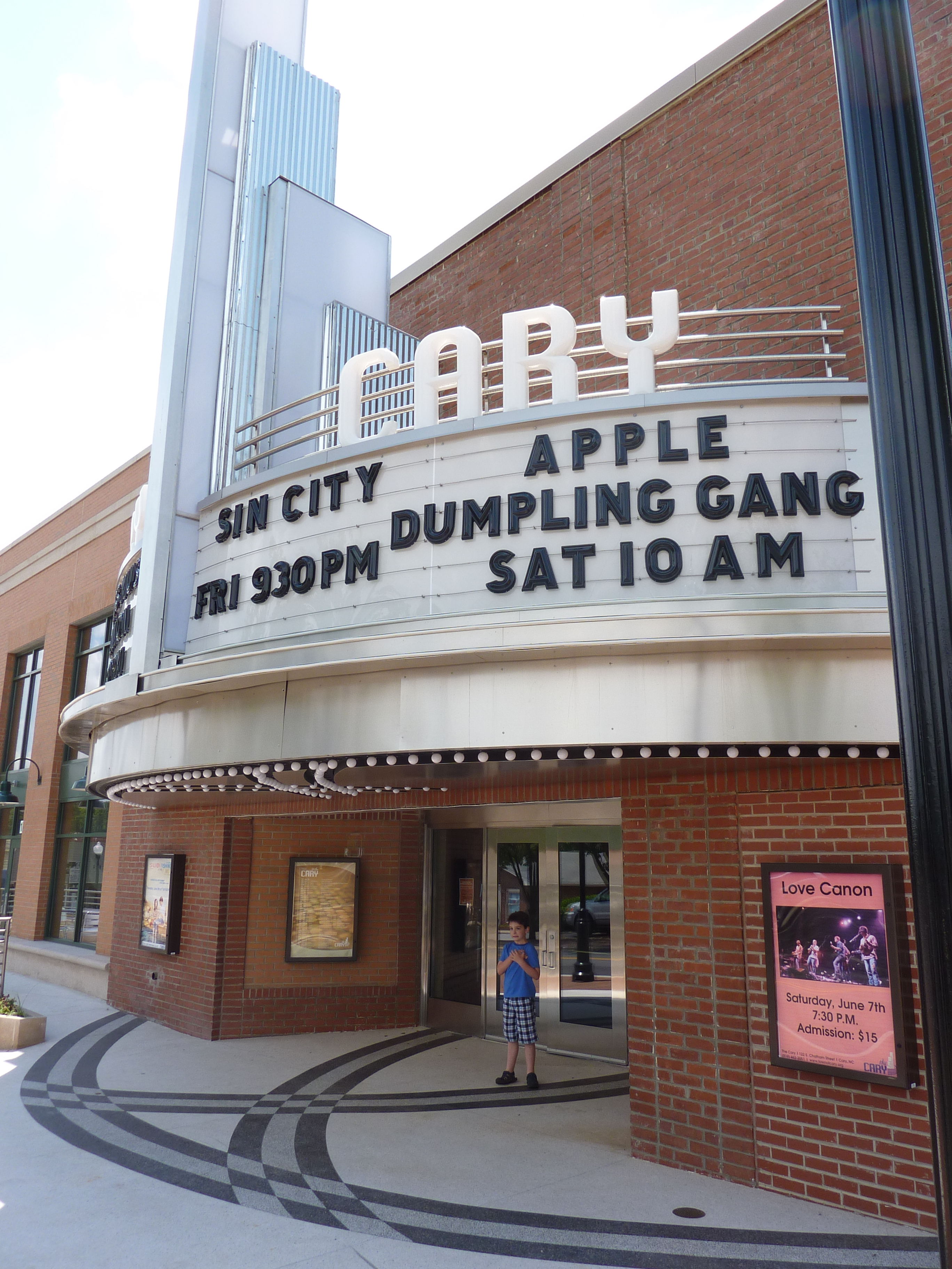Cary Theater Enhances Ambiance Culture And Nostalgia Downtown