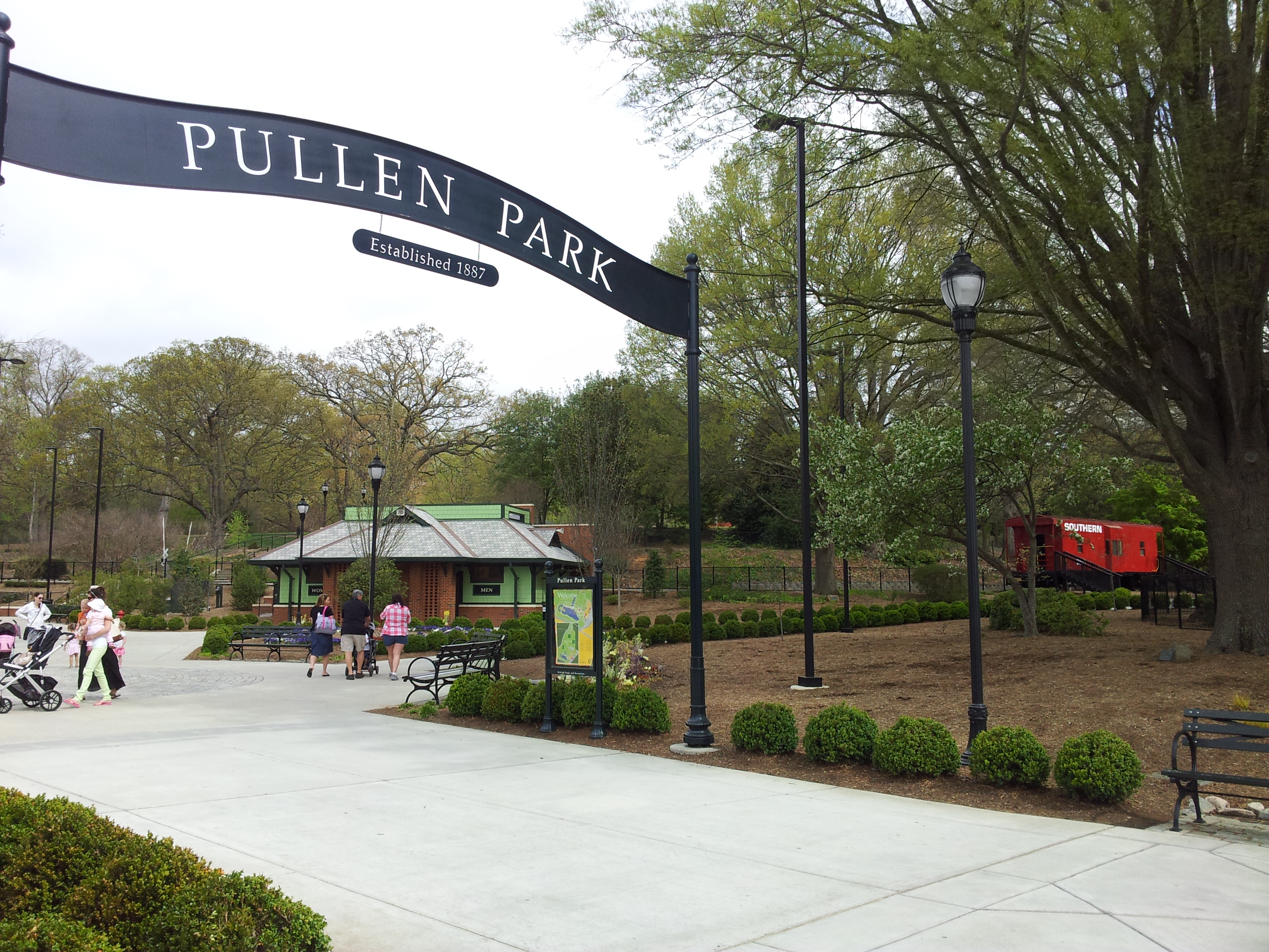 Family Fun at Pullen Park