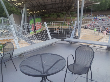 NCMA patio