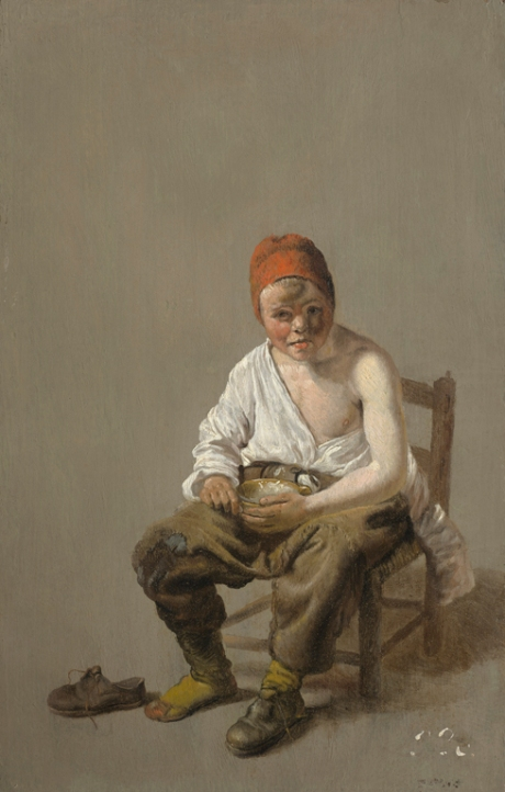 Dufhysen, Seated Boy