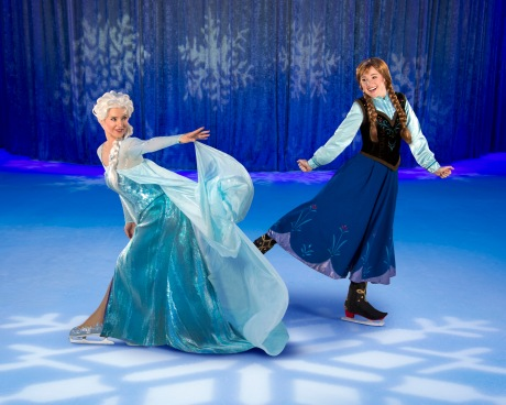 Disney on Ice, Frozen, Anna and Elsa
