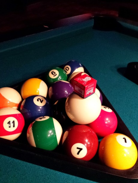 Pool at Kings Bowl of North Hills, Sports Bar in Greater Raleigh