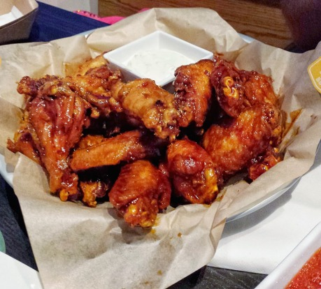T.MAC serves wings in Greater Raleigh, places to  have wings in Raleigh, NC