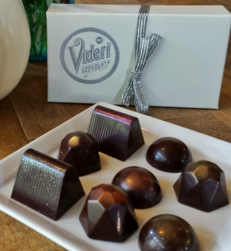 Videri chocolate confections in downtown Raleigh NC