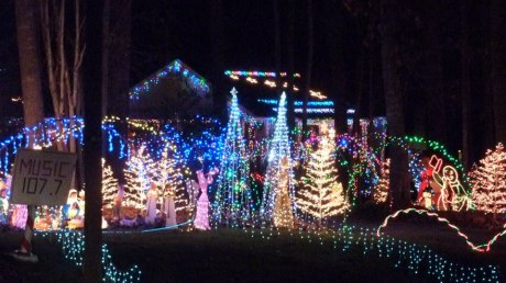 Holiday Lights in Greater Raleigh NC