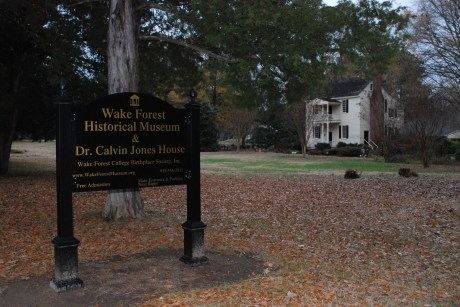 Wake Forest Historical Museum in Wake Forest NC