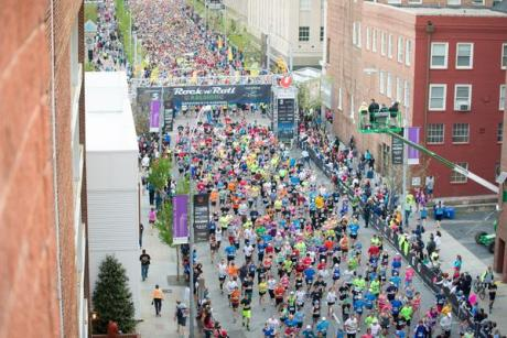 Rock 'n' Roll Raleigh Marathon & 1/2 Marathon presented by WRAL benefiting The V Foundation