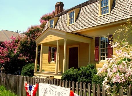 Joel Lane House in Raleigh