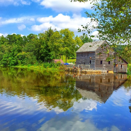 Historic Yates Mill in Raleigh NC